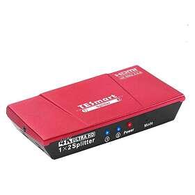 NÖRDIC 18Gbps HDMI - 2xHDMI F-F Splitter Adapter SGM-161