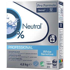 Neutral Sensitive Skin White Tvättmedel 4,8kg