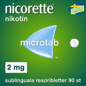 McNeil Nicorette Microtab 2mg 90 Sugtabletter