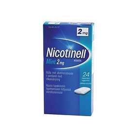 GSK GlaxoSmithKline Nicotinell Medisinsk Tyggegummi 2mg 96stk