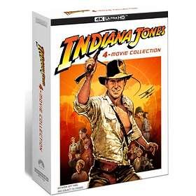 Indiana Jones - 4 Movie Collection (UHD+BD) (SE)