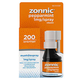 NicoNovum Zonnic Munspray 1mg/spray 200 Sprayningar