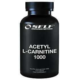 Self Omninutrition Acetyl L-Carnitine 1000 100 Tabletter