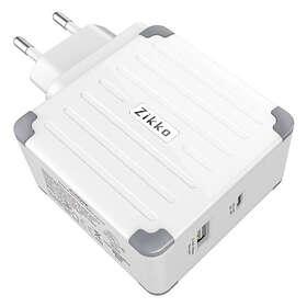 Zikko Wall Charger USB-C PD + QC 57W