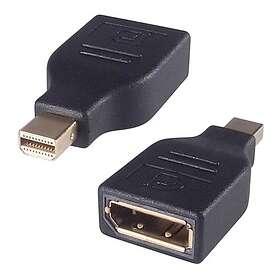 NÖRDIC Displayport Mini - Displayport M-F Adapter