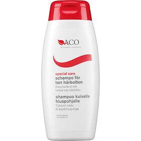 schampo för torr och känslig hårbotten