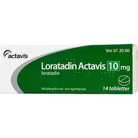 Actavis Loratadin Actavis 10mg 14 Tabletter