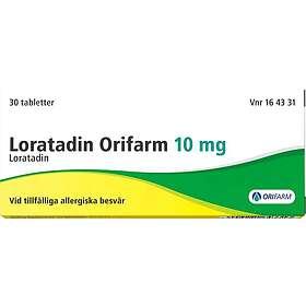 Orifarm Loratadin Copyfarm 10mg 30 Tabletter