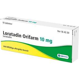 Orifarm Loratadin Copyfarm 10mg 10 Tabletter