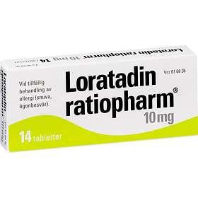 Ratiopharm Loratadin Ratiopharm 10mg 14 Tabletter