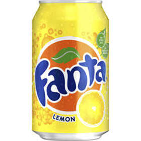 Fanta Lemon Burk 0,33l 24-pack