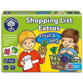 Orchard Toys Shopping List: Booster - Fruit and Vegetables