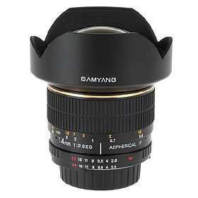 Samyang MF 14/2,8 ED AS IF UMC for Nikon
