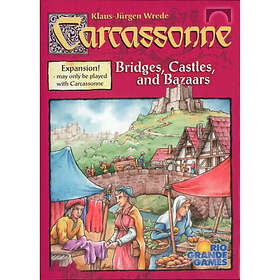 Z-Man Games Carcassonne: Bridges, Castles, & Bazaars (exp.)