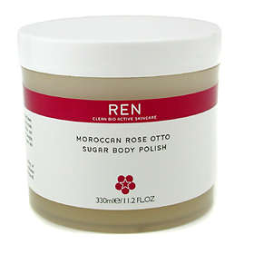 REN Moroccan Rose Otto Sugar Body Polish 330ml