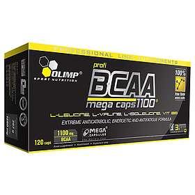 Olimp Sport Nutrition BCAA Mega Caps 120 Kapslar