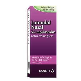 Sanofi-Aventis Lomudal Nässpray 15ml 100 Doser