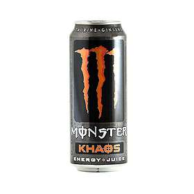 Monster Energy Khaos Burk 0,5l 24-pack