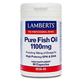 Lamberts Pure Fish Oil 1100mg 60 Capsules