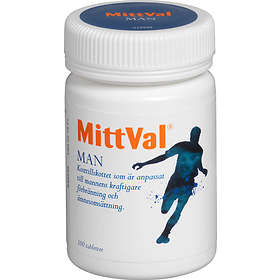 Recip MittVal Man 100 Tabletter