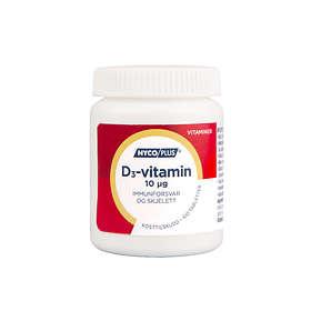 Nycoplus D3-Vitamin 10mcg 100 Tabletter