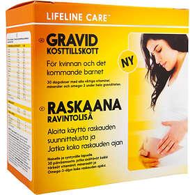 Lifeline Kosttillskott Till Gravida 4x30 Tabletter