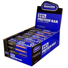 Maxim Sports Nutrition 54% Protein Bar 80g 20stk