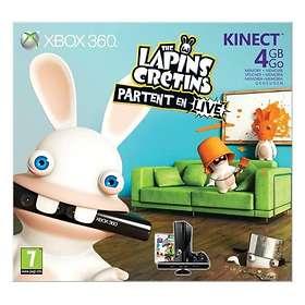 Microsoft Xbox 360 Slim 4Go (+ Kinect)