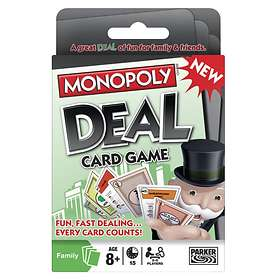Parker Brothers Monopoly: Deal - Card Game