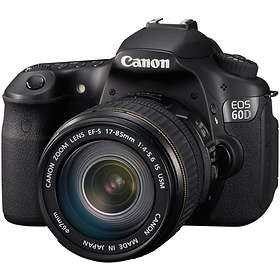 Canon EOS 60D + 17-85/4,0-5,6 IS