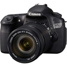 Canon EOS 60D + 18-135/3,5-5,6 IS