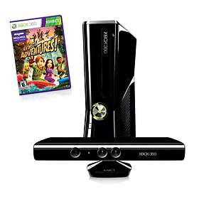 Microsoft Xbox 360 Slim 250GB (inkl. Kinect + Kinect Adventures)