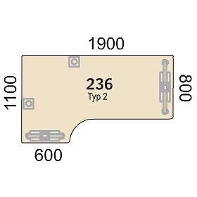 Morekontor Connect Bord 236