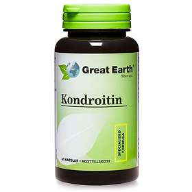 Great Earth Chondroitin CSA 500mg 60 Tabletter