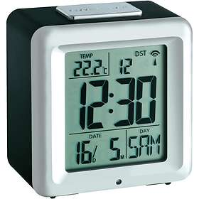 TFA Radio Controlled Alarm with Thermometer 60.2503