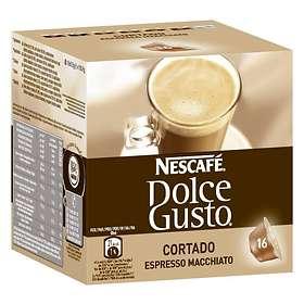Nescafé Dolce Gusto Cortado Espresso Macchiato 16st (kapslar)