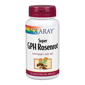 Solaray GPH Super Rosenrot 500mg 60 Kapsler