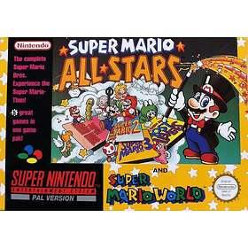 Super Mario All-Stars + Super Mario World (SNES)