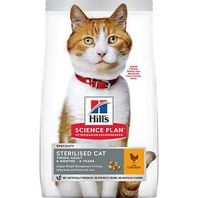 Hills Feline Science Plan Young Adult Sterilised Chicken 8kg