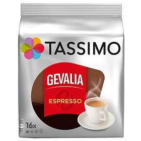 Gevalia Tassimo Espresso 16st (kapslar)