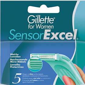 Gillette Venus Sensor Excel For Women 5-pack