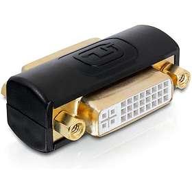DeLock DVI-I - DVI-I Dual Link  F-F Adapter