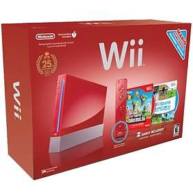 Nintendo Wii - Red Limited Anniversary Edition