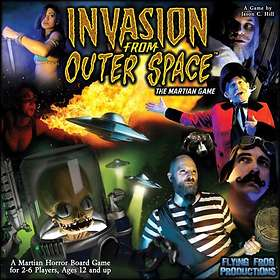 Flying Frog Productions Invasion from Outer Space: The Martian Game