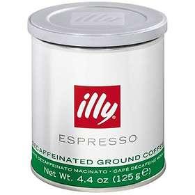 Illy Espresso Decaffeinato 0,125kg (tin, malda bönor)