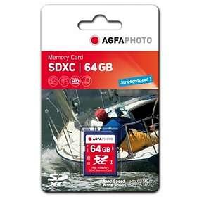 AgfaPhoto SDXC Class 10 64GB