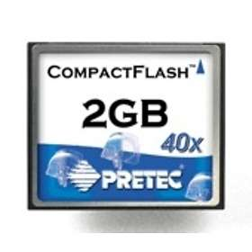 Pretec Compact Flash 40x 2GB