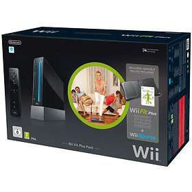 Nintendo Wii Black (+ Wii Fit Plus Pack) - Limited Edition