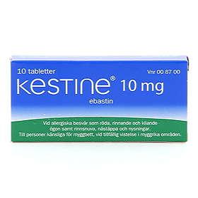 Antula Kestine 10mg 10 Tabletter