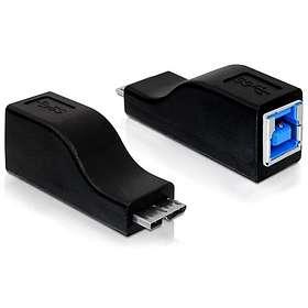 DeLock USB B - USB Micro-B 3.0 F-M Adapter